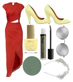 """""""The little mermaid: Female version of Marlin the magician"""" by northern-queen ❤ liked on Polyvore featuring Halston Heritage, Mulberry, BCBGMAXAZRIA, ncLA, Kjaer Weis, NYX and Linda Farrow"""