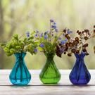 Aqua Collection - Stained Glass Vases