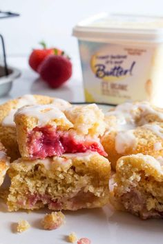 Enjoy the taste of spring year-round with this recipe for Gluten-Free Strawberry Muffins using frozen strawberries!