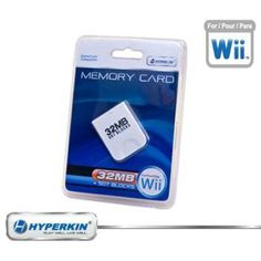 New Nintendo Wii / Gamecube Hyperkin 32 MB Memory Card Store Levels Characters Top Scores   http://ibestgadgets.com/product/new-nintendo-wii-gamecube-hyperkin-32-mb-memory-card-store-levels-characters-top-scores/   #gadgets #electronics #digital #mobile