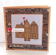 Glückwunschkarte zum neuen Haus Stempelset von Stampin'Up *Aus dem Häuschen*