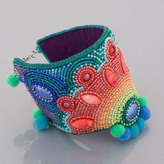 Cuff Bracelets, Captain Hat, Handmade Jewelry, Beads, Fashion, Beading, Moda, Handmade Jewellery, Fashion Styles