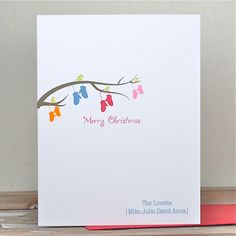 Christmas Cards / Holiday Cards / Personalized Christmas Cards / Personalized Holiday Cards - In From The Cold. $20.00, via Etsy.