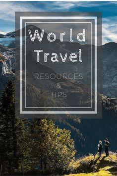 The ultimate list of the best planning resources for traveling the world—tips on visas, packing, health, safety, and long-term travel considerations.