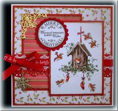 LOTV - Little Festive Robins by Bev