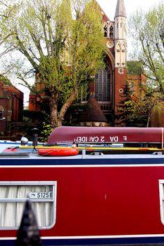 {   El canal que cruza Maida Vale se llama Little Venice y es un sitio precioso   }  #MaidaVale #LittleVenice #Londres