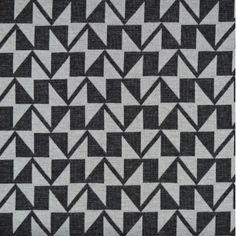 Geometric Print Ponte Roma - Grey • Shop • Remnant Kings