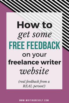 writing portfolio websites