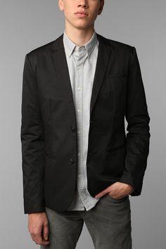 Charles & 1/2 Shrunken Blazer - Black - http://www.urbanoutfitters.com/urban/catalog/productdetail.jsp?id=22869101=M_OUTERWEAR#
