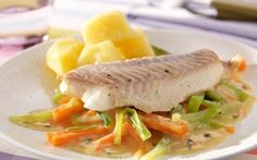 forel in wittewijnsaus | trout in white wine sauce
