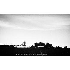 Traveling #ohio on the #harleydavidson #farmlife #iphonography #blackandwhitephotography