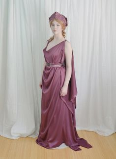 The Grecian Costume : Making a Chiton, Crown, andGirdle