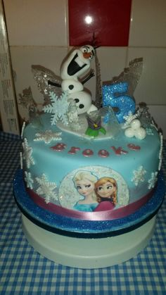 My 1st frozen cake (pimped)