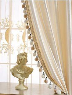French Door Curtains, Silk Curtains, Velvet Curtains, Blackout Curtains, French Doors, Sliding Glass Door, Sliding Doors, Living Room Orange, Cornices