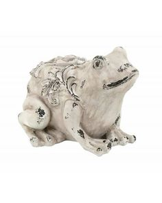 Fiberglass Garden Frog Statue - Made from top quality fiber glass, this decorative frog is designed by master artists that make it extremely eye catching in appearance. It features an understated style that ensures it is versatile for blending in with different kinds of settings.