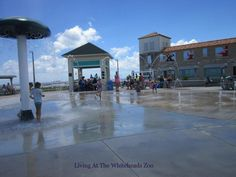 St.Augustine Splash Pad at the Pier #FloridaFamilyFun #TuesdayTravels