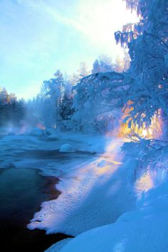 Frozen Lake, Finland – Miracles from Nature Winter Szenen, Winter Magic, Winter Time, Winter Christmas, Winter Walk, Winter Light, Winter Travel, Beautiful World, Beautiful Places
