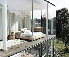 My dream, modern bedroom. I fall in love in it.