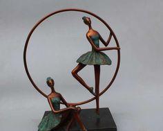 Art sculpture Bronze Marble Abstract Two Belle ballerina Statue - Marble Sculpture - Ideas of Marble Sculpture Ballerina, Bronze, Statue, Art Sculpture, Sculpture Ideas, Westerns, Sculptures For Sale, Western Art, Decoration