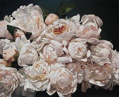 Peonies Eclater 167 X 200 cm by Thomas Darnell