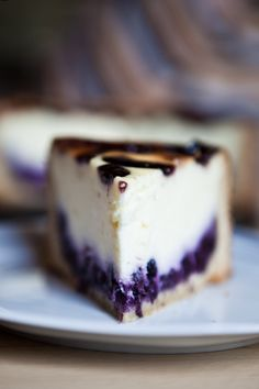 Easy Cake : The best blueberry cheesecake of all time - is made quite differently than thought, Cheesecake Recipes, Dessert Recipes, Blueberry Cheesecake, Muffins, Sweet Bakery, Sweet Tarts, Cakes And More, No Bake Cake, Gourmet
