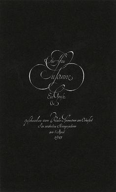 The Berlin Calligraphy Collection: Rudolf Spemann