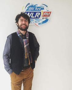 Declan O'Rourke popped in to us yesterday to chat to @geoffharriswlr about his new album In Full Colour. Listen to him on The Lunchbox page on WLRFM.com #declanorourke #infullcolour #orchestra #lifeatwlr  #waterford #thelunchbox