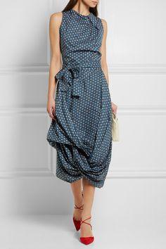 Vivienne Westwood Anglomania | Eight floral-print cotton-poplin dress | NET-A-PORTER.COM