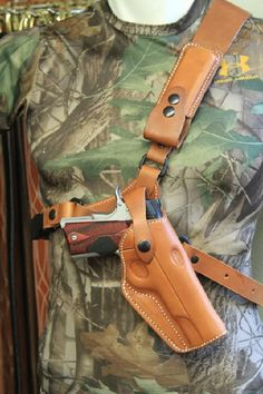 Guides Choice Chest Holster, Original Alaskan Holster Like this for outdoor use.