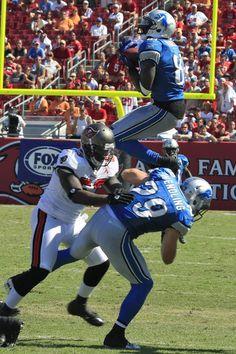 Who's ready?! Calvin Johnson, Detroit Lions #NFL #Detroit #LIONS