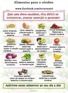 Alimentos para o cérebro!