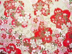 flower japanese paper