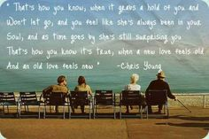 chris young  old love feels new