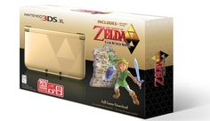 Yes, of course Nintendo is releasing its Zelda-themed 3DS XL in the US as well PLEASE PLEASE PLEASE PLEASE!!!