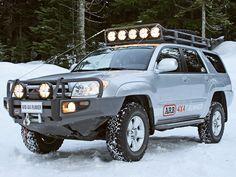 ARB  Toyota 4Runner.  overlanding