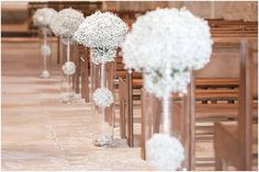 Babys breath plants  | Image by Juliet Lemon Photography, full wedding http://www.frenchweddingstyle.com/wedding-at-chateau-domaine-dessendieras/