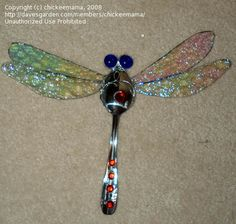 trash to treasure garden ideas | Trash to Treasure: chickeemama picture (Old tablespoons....now to be ...
