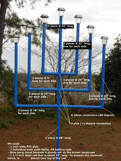 how to make a menorah - Google Search