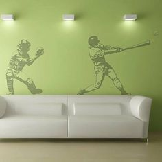 Amazon.com: Baseball Wall Mural: Home Improvement