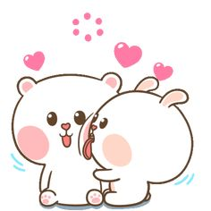 The perfect Happy Cute Love Animated GIF for your conversation. Discover and Share the best GIFs on Tenor. Love Heart Gif, Love You Gif, Cute Love Gif, Cute Love Pictures, Cute Cartoon Images, Cute Couple Cartoon, Cartoon Gifs, Cute Cartoon Wallpapers, Kiss Animated Gif
