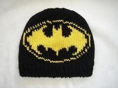 Batman beanie knitting pattern