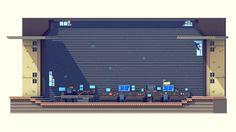 Super Time Force - Spacebus Bridge (Sneak) by Timothy J. Reynolds, via Behance