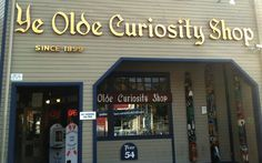 The Seattle Ye Olde Curiosity Shop is one of the iconic places Seattle is known for.  With real life mummies and other curiosities there is much fun to be had at this quirky shop along the waterfront!