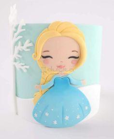 Frozen Themed Birthday Cake, Disney Frozen Birthday, Frozen Birthday Cake, Frozen Cake, Bolo Frozen, Birthday Cakes Girls Kids, 4th Birthday Parties, Elsa Doll Cake, Dora Cake