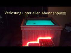 IBC Tank zum jacuzzi umgebaut;) pool für kleines geld in kurzer zeit mit super optik!!Verlosung!! - YouTube