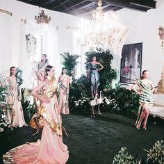 How to combine fashion and nature: @giannimolaro Atelier 💕 thank you @altaroma 💃🏻🔝 #altaroma #altaroma2017 #wion2017 #uptalent #fashionhub #atelier #intown #fashionweek #rome #romefashuonweek #roma #altaromaaltamoda #giannimolaro #models #fabulous #loveit #instalike #instadaily #instamood #instagramhub #instagrammers #iphonesia #iphoneonly #picoftheday #bestoftheday #igdaily #webstagram #vsco #vscogram