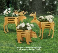 Planter Woodworking Plans - Small Cedar Animal Planter Plans