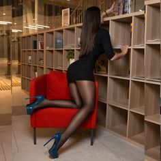 Black tights and stockings. : Photo