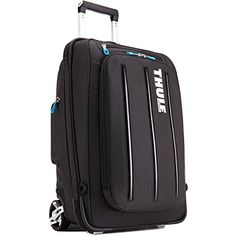 http://www.thefashionpoint.info/thule-crossover-38-litre-rolling-carry-on-review/ - Do travels call for a roller or a backpack? With hide-away cool mesh shoulder straps the answer does not matter...