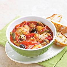 French Chicken Stew        Tender chicken, herbs, and fresh vegetables make this slow-cooker dish a surefire crowd pleaser; time-saving ingredients such as premade pasta sauce make preparation a snap.
